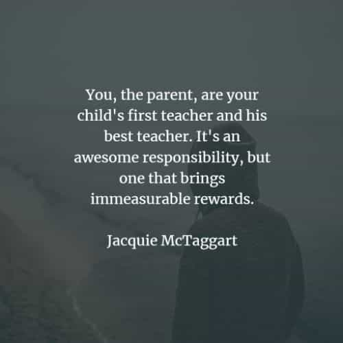 Parents quotes and sayings that cherish the connection