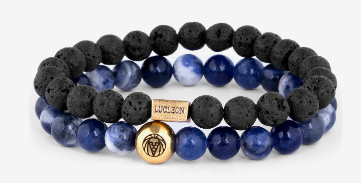 Win a Lucleon Blue Agate & Lava Miro Bracelet from Trendhim