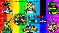 CPL 2020 All Team Players list !! CPL 2020 !! CPL 2020 team list