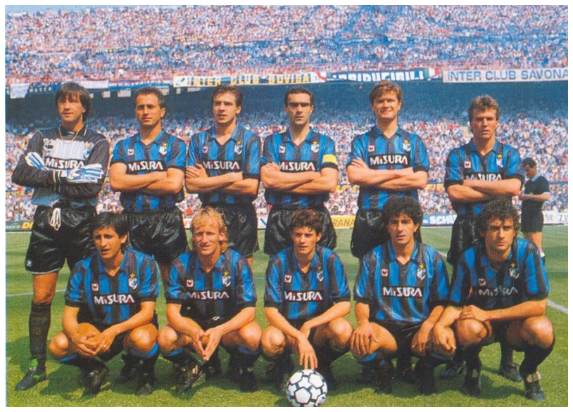 Inter milan, italian professional football (soccer) team based in milan. Old School Panini F C Internazionale Milan 1988 89