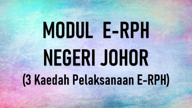 Modul e-RPH Johor