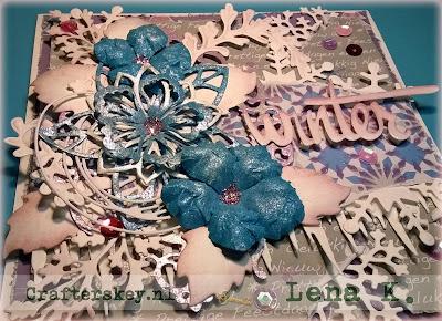 Precious Marieke PM10051 Snowflakes Joy!Crafts 6002/2033 Joy!Crafts 6002/2036 Marianne Design Lr0156 Marianne Design Lr0245 Marianne Design Lr0125 Marianne Design Lr0128 Marianne Design COL1394 Marianne Design Lr0125 Sizzix Thinlits Scribbles & Splat #660222 Creative Expressions  Sue Wilson Maidenhair Fern (CED1433)