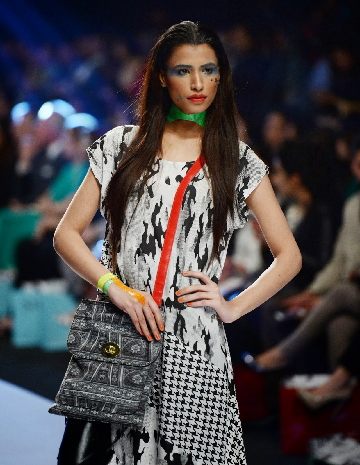 2014, Culture, Entertainment, Fashion, Fashion 2014, Fashion Pakistan Week, Fashion Week, Karachi, Model, Pakistan, Showbiz,