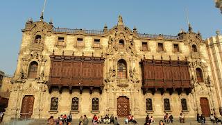 Palácio do Arcebispo, em Lima