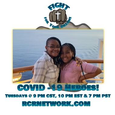 COVID -19 Heroes: The Daughters of Pastor & Lady Halbert Story