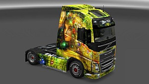 Flower Girl Skin Pack for All Trucks