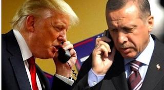 Trap-Erdoğan'ın yarın Suriye'ye gelişi için telefon çağrısı