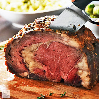 Slow Roasted Boneless Prime Rib Roast