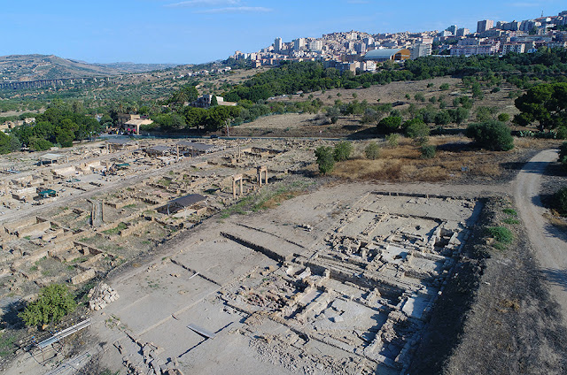 Excavations of the Greek theatre and Hellenistic-Roman quarter of Agrigento, Sicily