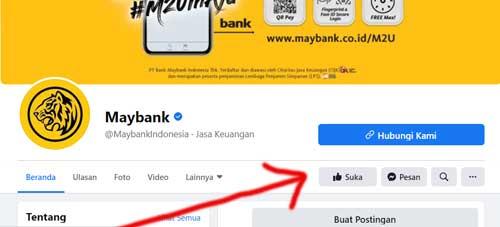 sosial media maybank resmi
