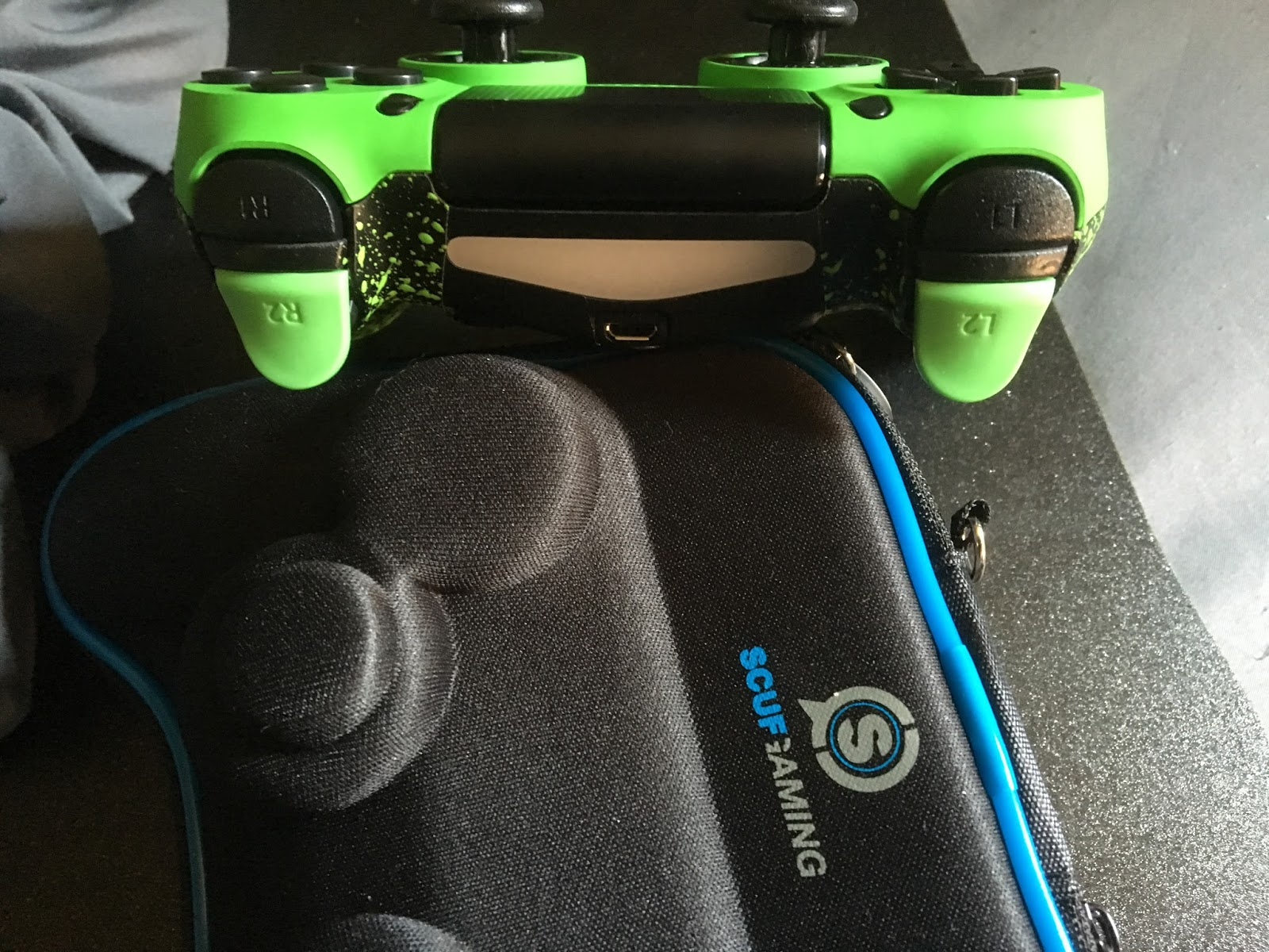 how to get used to a scuf controller