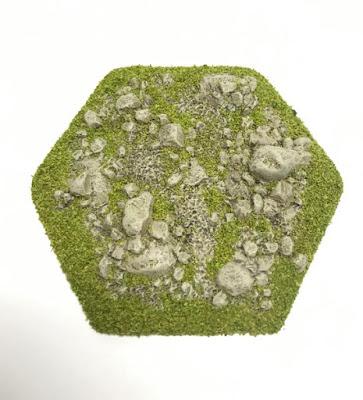 Hex 'Broken Ground' Tile Topper