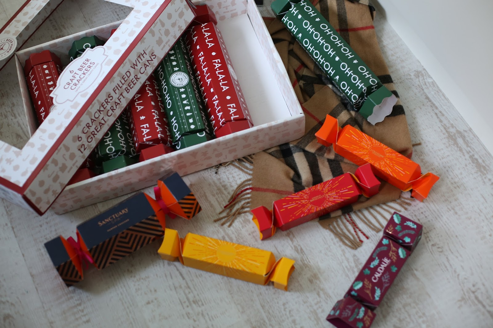 best beauty christmas crackers