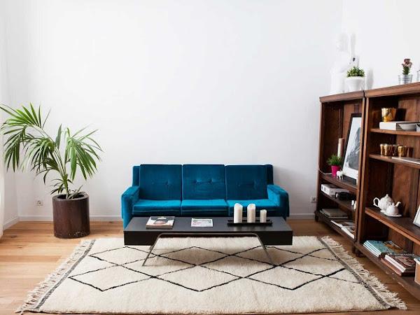 Las alfombras Beni Ouarain de Sukhi, pura tendencia