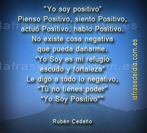 Frases de Pensamiento Positivo