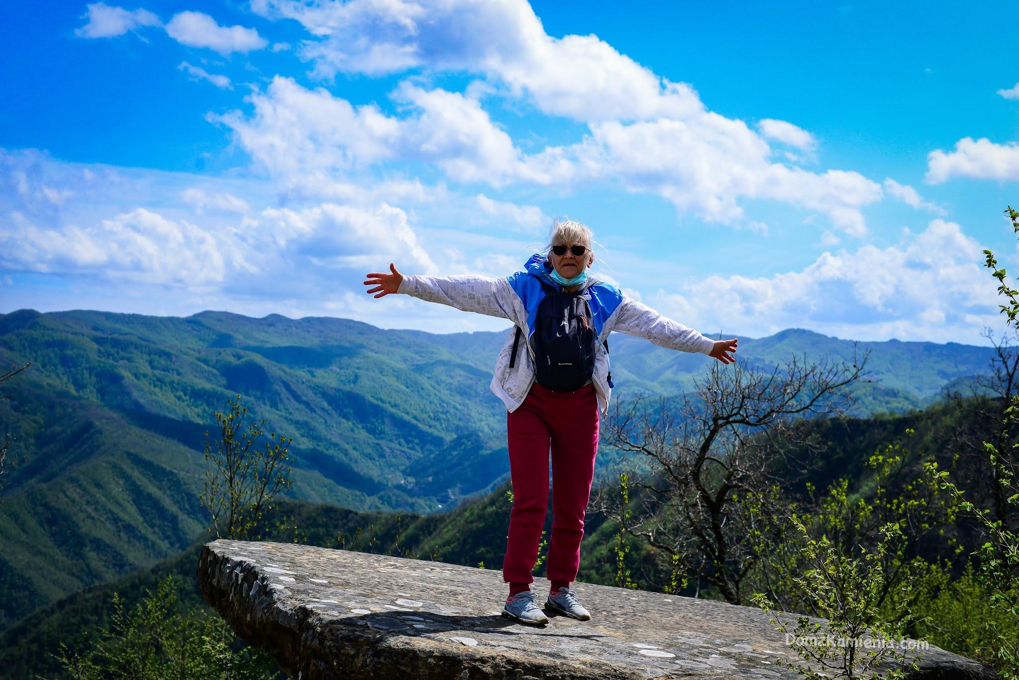 Dom z Kamienia, blog Marradi, trekking