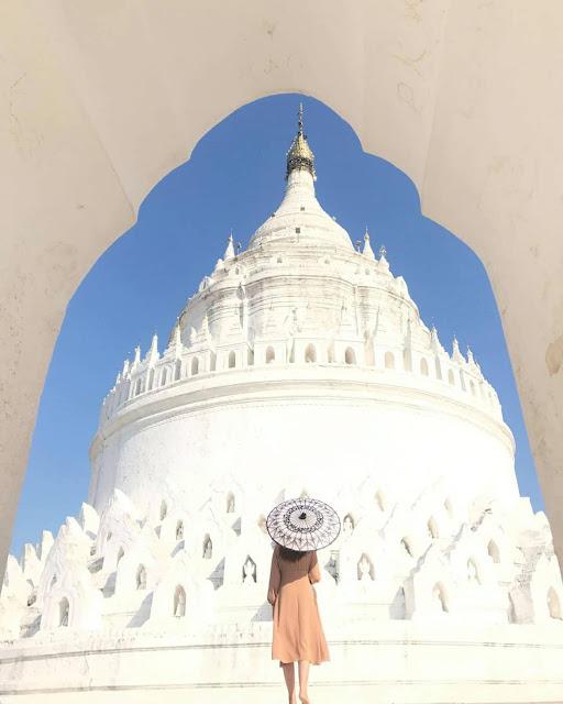 Khám phá vẻ đẹp kiêu sa của chùa Hsinbyume