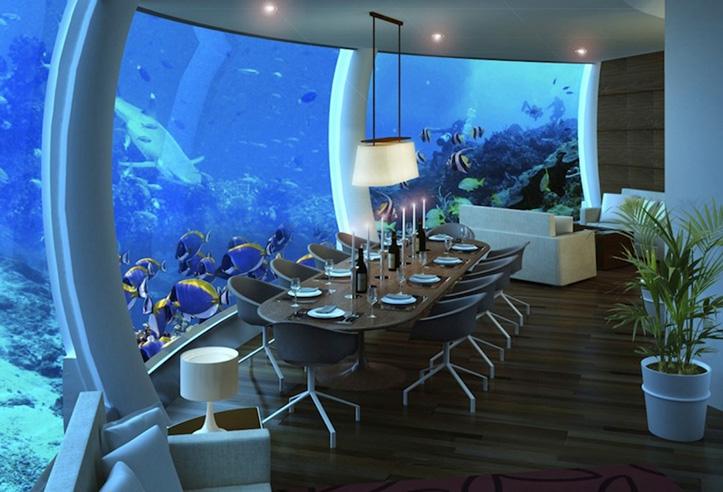 The Water Discus Hotel, Dubaj, podwodny hotel