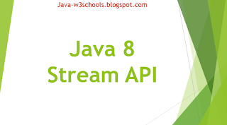 Java 8 Stream API Introduction