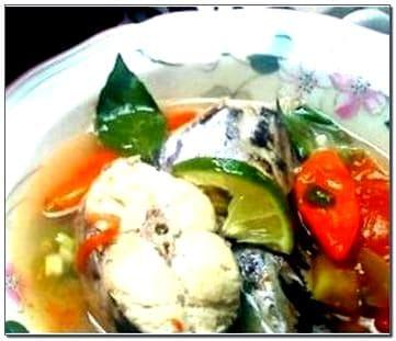 Foto ikan kuah asam Manado