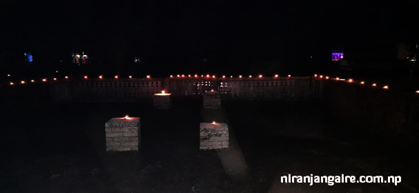 light feasts in tihar festival in nepal and india