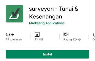 aplikasi survey penghasil uang rupiah