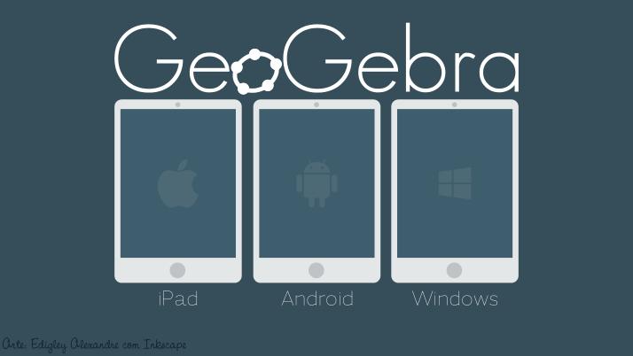 GeoGebra para iPad, Android e WindowsPhone