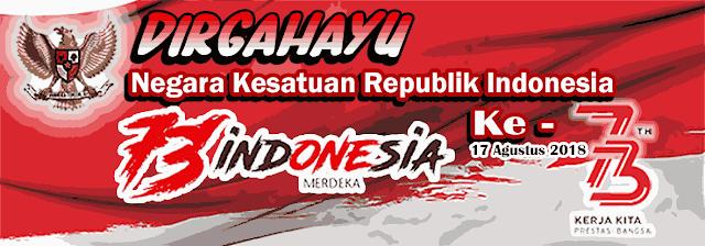 Kumpulan Banner Spanduk Mmt Hut Kemerdekaan Indonesia Ke 73 Simadrasah