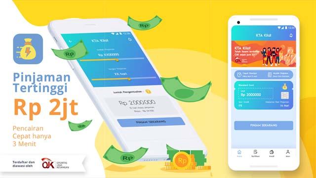 KTA Kilat - Aplikasi Pinjaman Online android terbaik