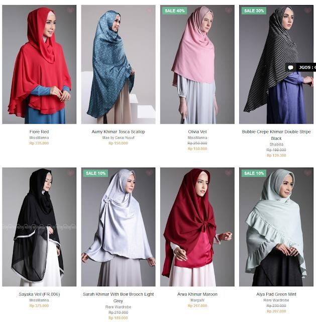 Hijab Khimar Untuk Hijab yang syar'i