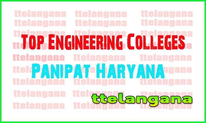 Top Engineering Colleges in Panipat Haryana