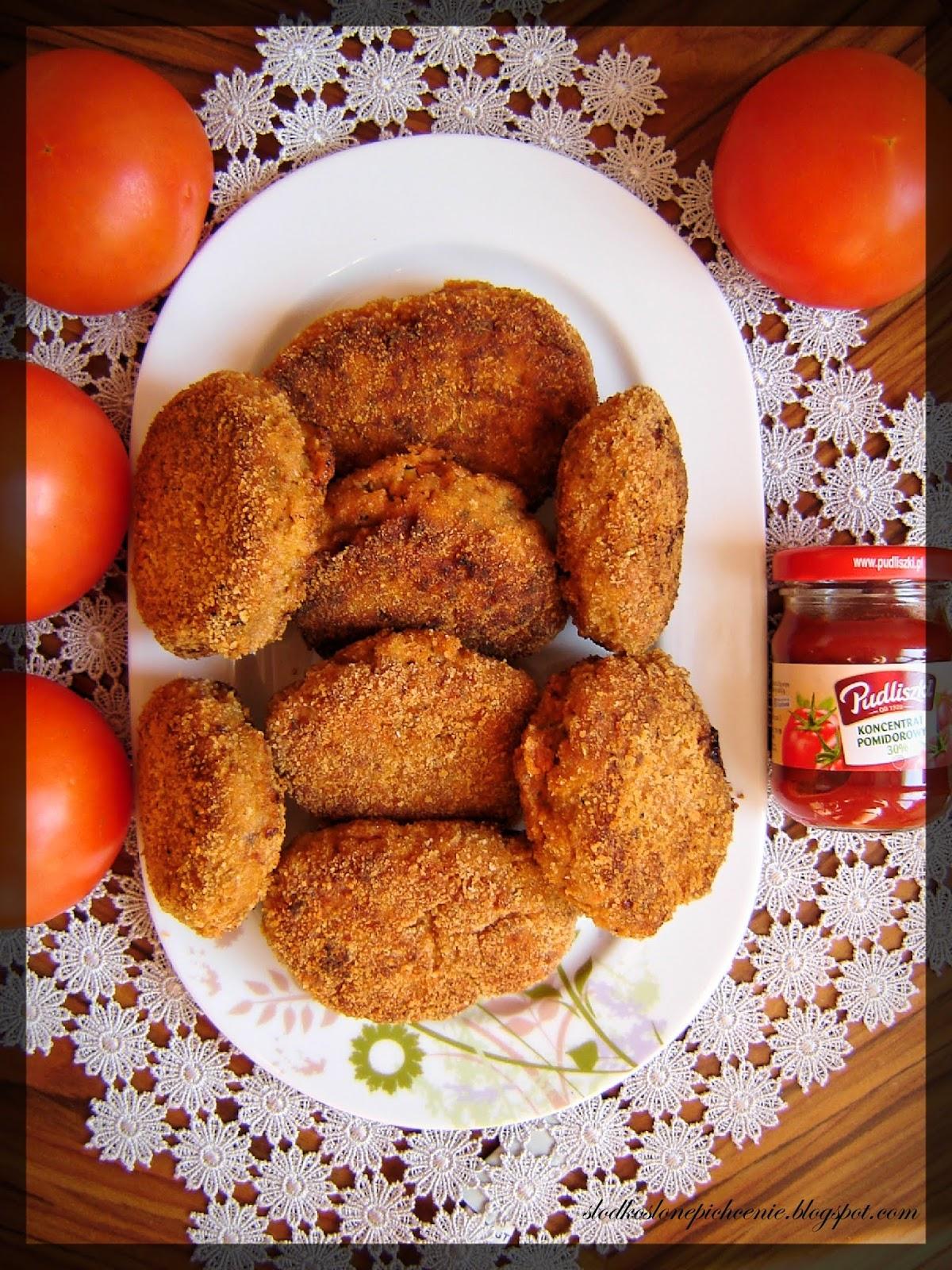Pomidorowe kotlety mielone