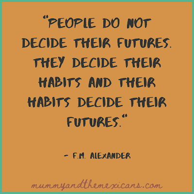 How To Start New Habits And Transform Your Life - Quote About Habits By F.M.Alexander