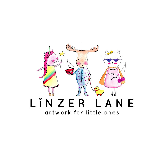 Linzer Lane | Artwork for Little Ones by artist Lady Lucas