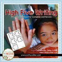 https://www.teacherspayteachers.com/Product/High-Five-Writing-2220665