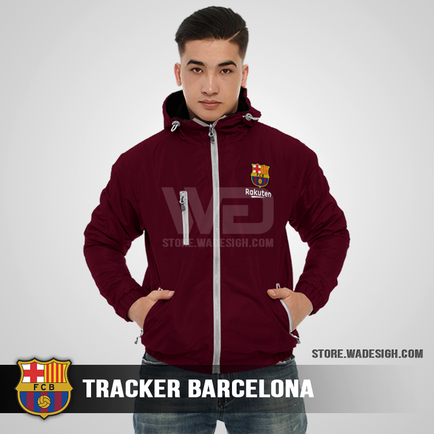 Jaket Tracker Waterproof Barcelona