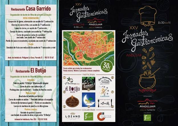 XXV Jornadas Gastronómicas en Andújar