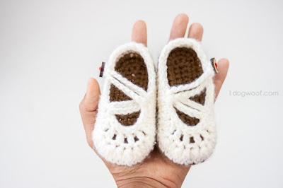 20 Pola Crochet Gratis Sepatu Bayi