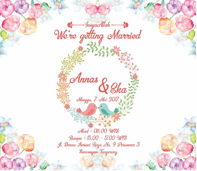 Undangan Pernikahan Online Digital Wedding Invitation Tutordesign