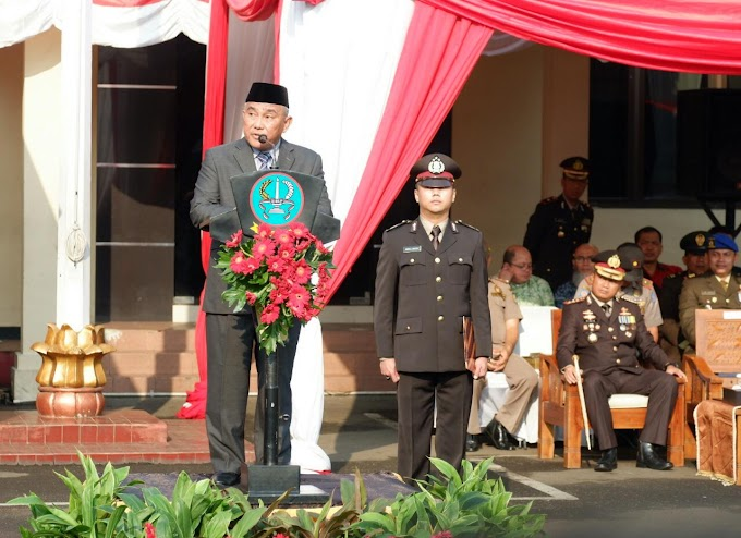 Walikota Jadi Irup HUT Ke-73 Bhayangkara
