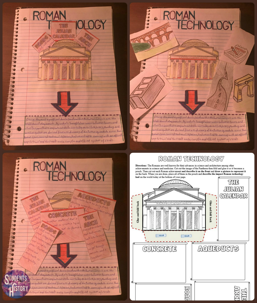 Students of History: Ancient Rome Lesson Bundle - Almost ...