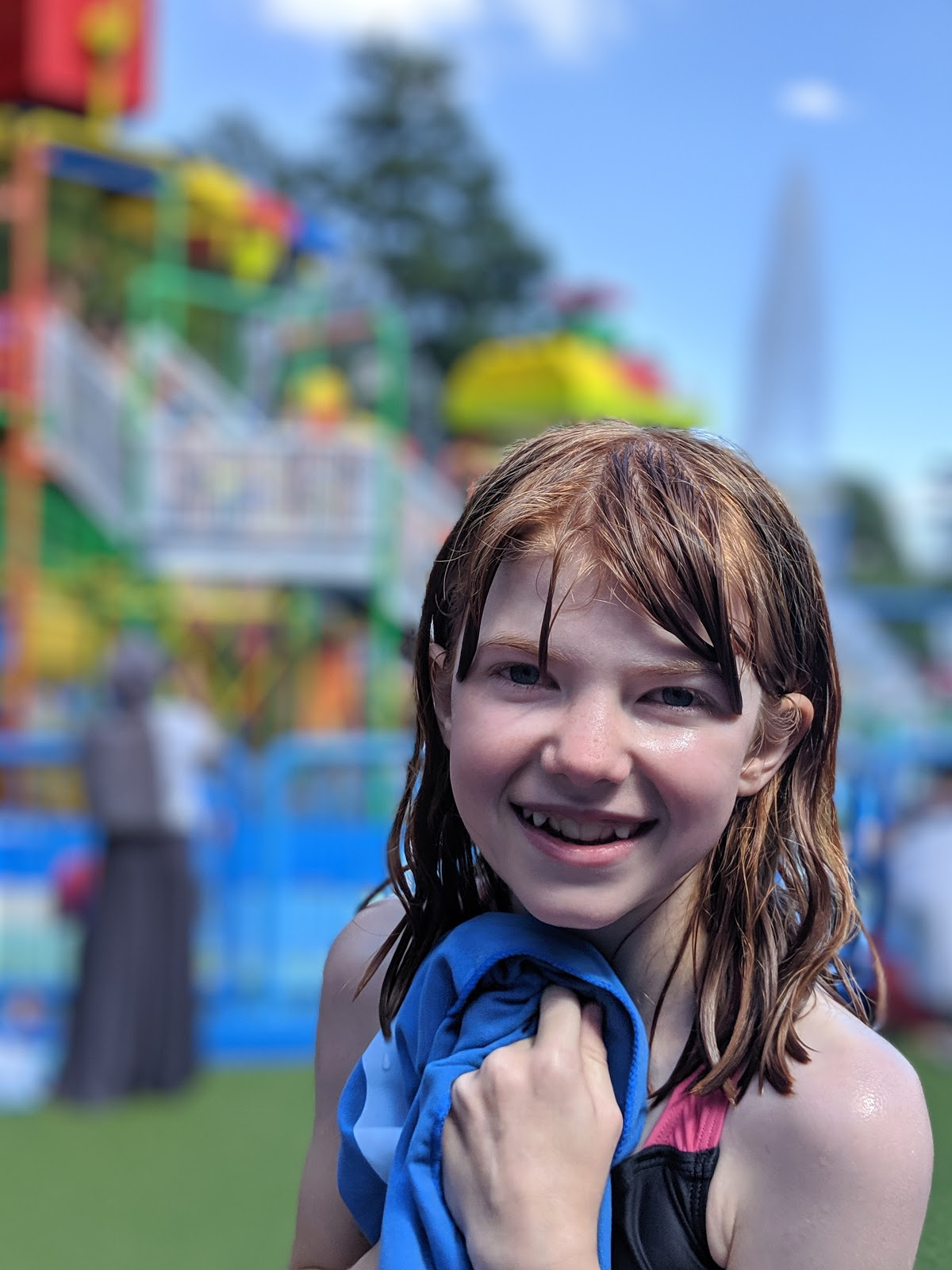 Exploring the Southern Merlin Theme Parks with Tweens  - LEGOLAND drench towers