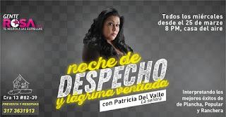 Concierto de Patricia del Valle en Bogota