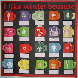 Winter Bulletin Board Ideas Library Learners
