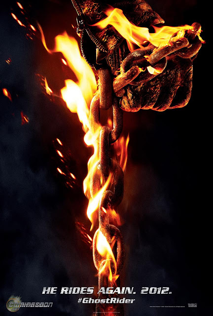Primer poster de The Ghost Rider: Spirit of Vengeance