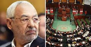 تونس.. تحرك برلماني جديد لسحب الثقة من الغنوشي