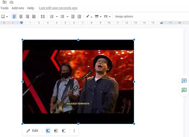 Cara Menyisipkan Video di Google Docs-6