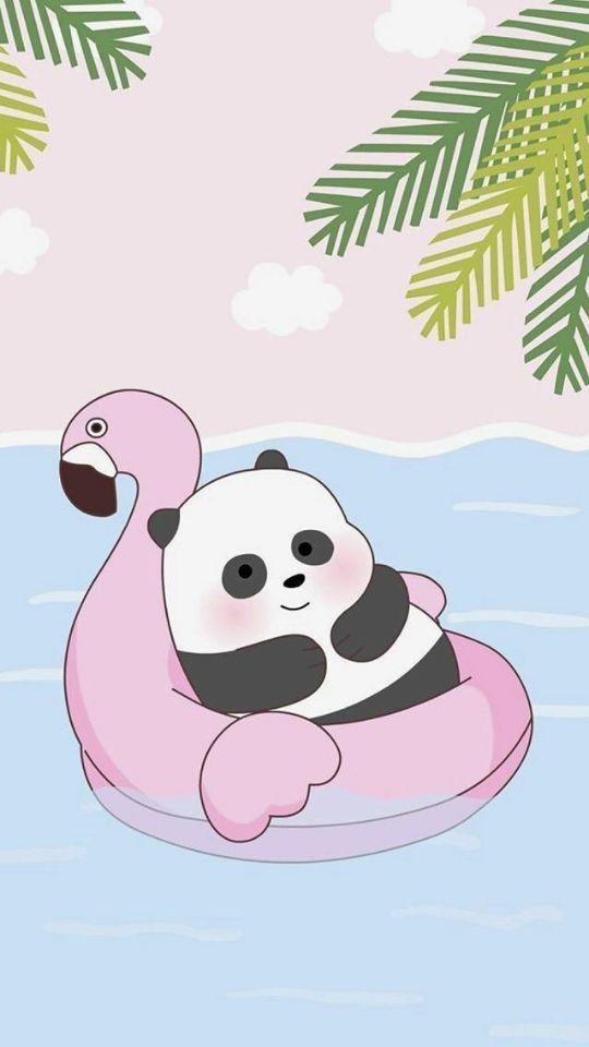 wallpaper panda lucu