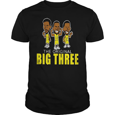 The Original Big Three GOLDEN STATE WARRIORS Shirts Hoodie