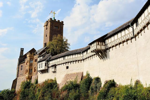 ヴァルトブルク城、ドイツ、観光